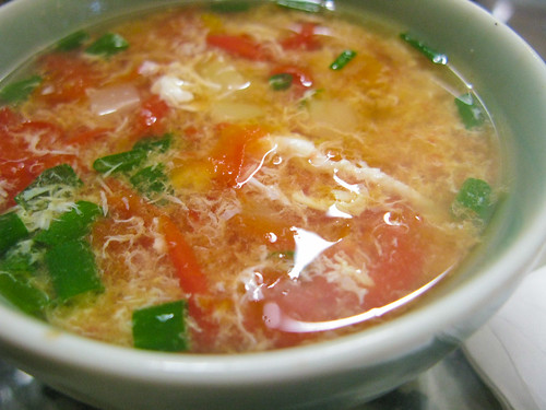Tomato Egg Drop Soup 番茄蛋花湯 | Chinese Recipes at ...