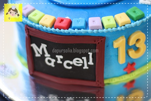 Birthday Cake for Junior High School Boy