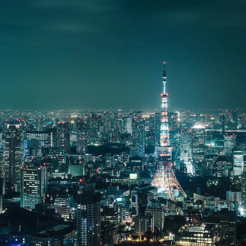 東京タワー。