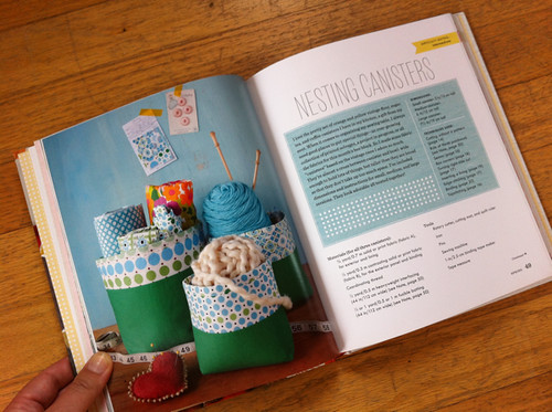 Nesting Canisters from Sewing For All Seasons