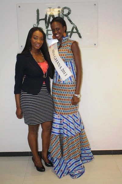 Miss Ghana 2013 winners visit Hair Senta (8)