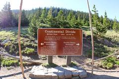 Milner Pass Continental Divide