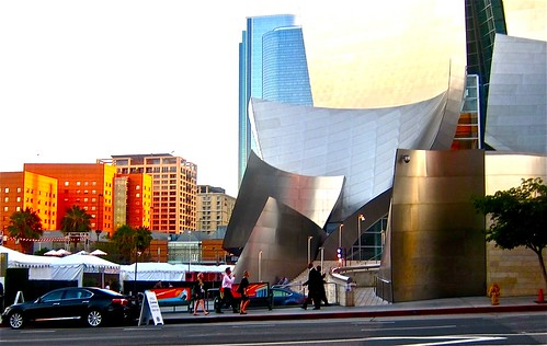 disney hall and festival grounds