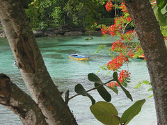 尼加拉瓜聖胡安河是新運河的可能路徑之一。(攝影:edhi。)