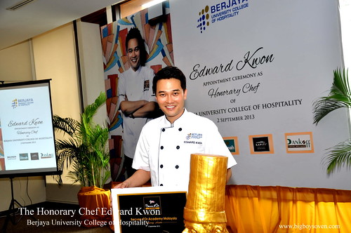 The Honorary Chef Edward Kwon of Berjaya University College of Hospitality 14