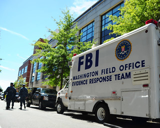 An F.B.I. evidence response team collects evidence at the Washington Navy Yard. | by Official U.S. Navy Imagery