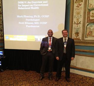 NCCHC mental health conference presentation by Corizon - Dr Mark Fleming-Dr & Scott Eliason Corizon