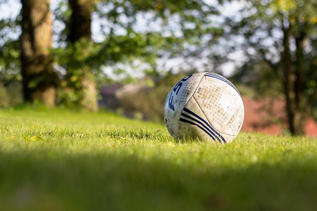 Fußball in der Froschperspektive