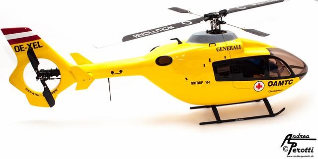 EC-135 - Blade 450 3D