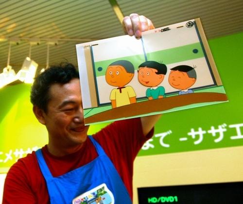 131001(1) - 9/29是日本電視動畫史50年傳統「賽璐珞片」消逝之日、長壽卡通《サザエさん》(海螺小姐)邁向全面數位化! 2