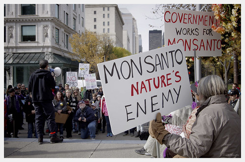 March Against Monsanto 2013 - Monsanto nature's enemy by Wanderfull1