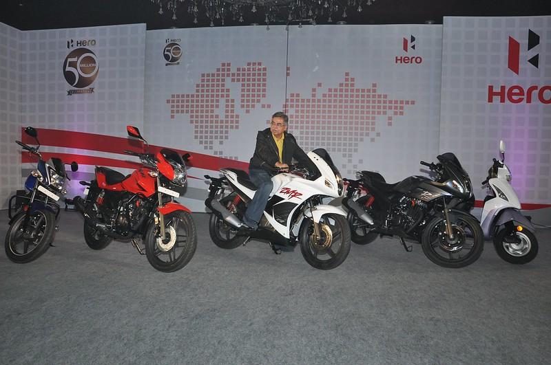 2014 Hero MotoCorp Lineup
