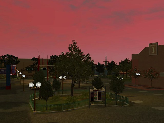 Miramar Studios Park by Night
