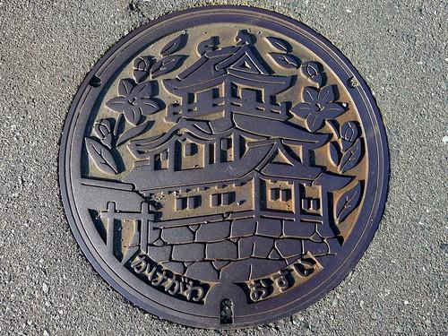 Kakegawa Shizuoka , manhole cover (静岡県掛川市のマンホール)