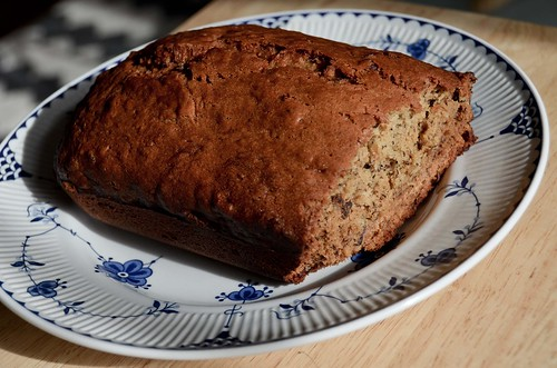 One Bowl Banana Bread with Cacao Nibs