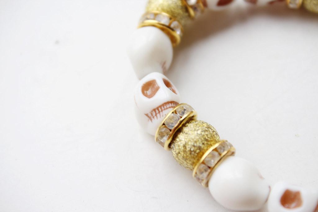 skull bracelet from persunmall