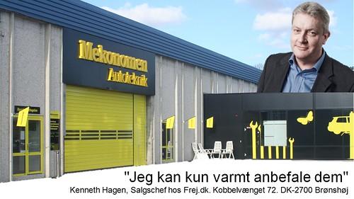 Kenneth Hagen: anbefaling af Mekonomen Autoteknik - ES Motor