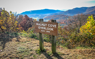 Walnut Cove Overlook Sign (Blue Ridge Parkway, NC)