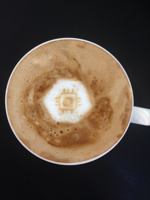 Today's latte, Google Compute Engine.