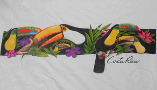 Costa Rica - Shirt with Toucans