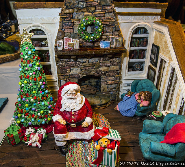 National gingerbread house competition at the omni grove for Grove park house