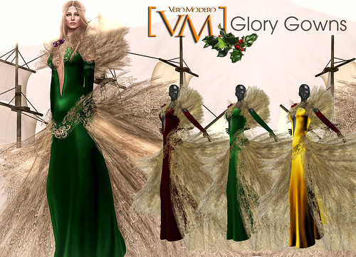 [VM] VERO MODERO  Glory Gowns All Colours