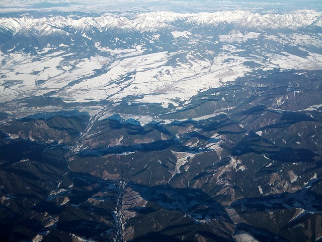 Tatras & Fatras from the air