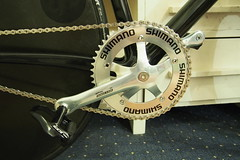 tire, road bicycle, wheel, crankset, bicycle frame, bicycle,