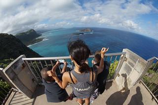 Image of Makapuu Point Lighthouse near Waimānalo Beach. flickrandroidapp:filter=none