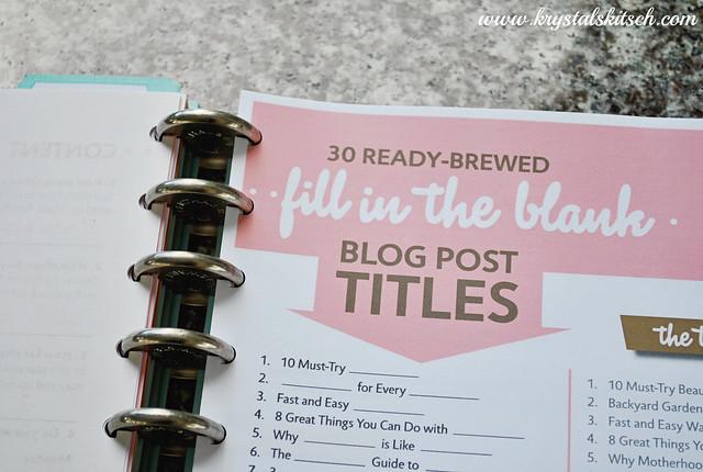 Content Brew Blogger Class