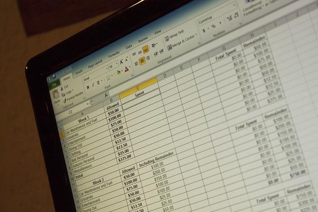 Excel log