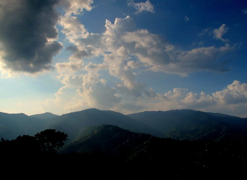 nepal mountains nature landscape evening scenery hills dhulikhel peterch51