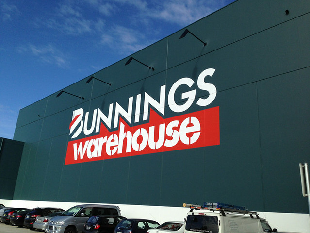 Work has begun on the new Bunnings Warehouse in Coffs Harbour South (NSW)