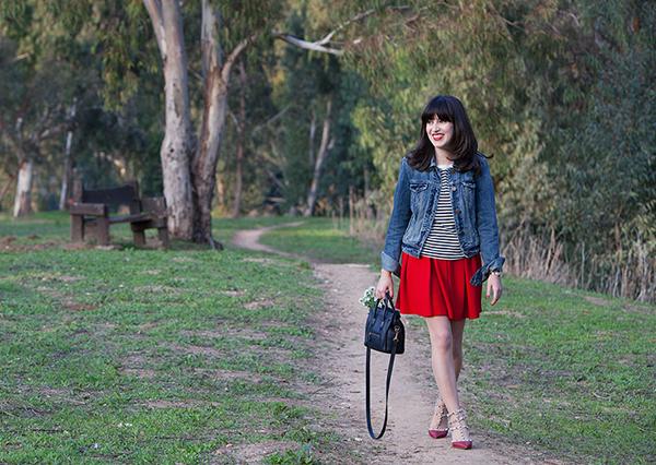 אפונה בלוג אופנה, בלוג אופנה ישראלי, חולצת פסים