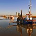 Thornham fishing boats by Andrew Boxall