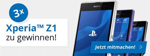 Xperia Z1 Gewinnspiel