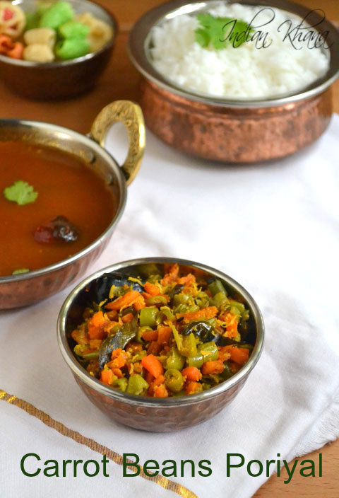 Carrot-Beans-Poriyal-Recipe
