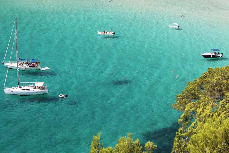 Cala Trebalúger, Menorca