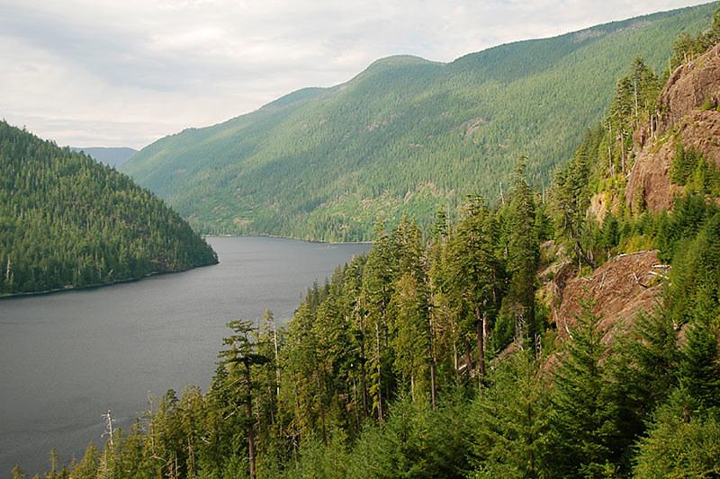 Nahmint Lake, Alberni Inlet, Alberni Valley, Vancouver Island, British Columbia, Canada