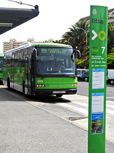TITSA bus