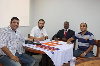 Pastor Rodrigo, Alexandre Pereira, Aloysio Passos e Fábio Pereira