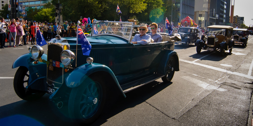 2014 Australia Day City - Parade!
