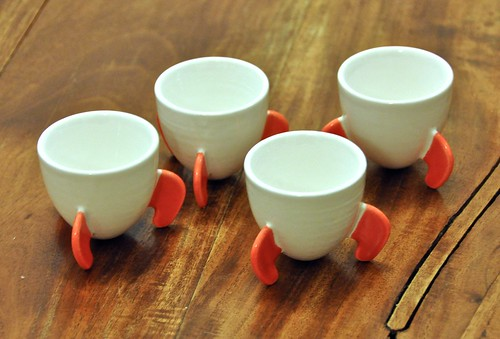 Invasion of two-tone rocket cups