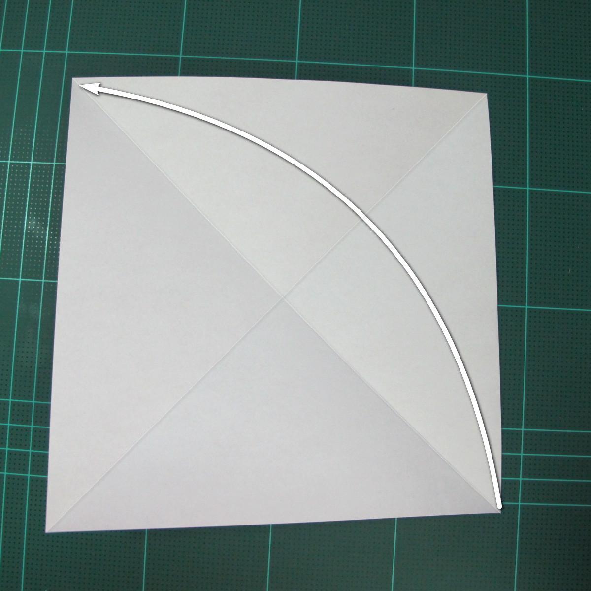การพับกระดาษเป็นนกพิราบ (Origami pigeon) 00002