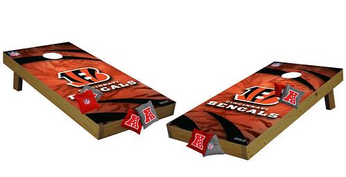 Cincinnati Bengals Premium Cornhole Boards