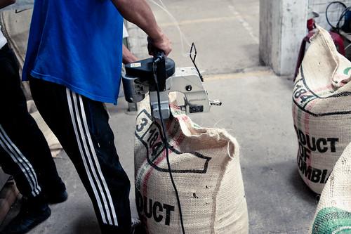 Sealing Jutebags