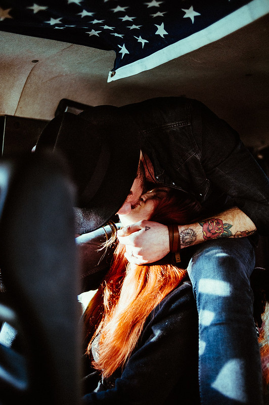 Le Love Blog True Love Never Disappears Photo Couple Kissing In Car Van Untitled by Emmanuel Rosario, on Flickr