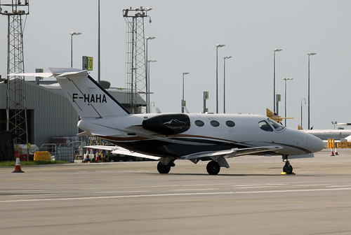 F-HAHA Cessna 510 Citation Mustang by Guernsey Airport Photography