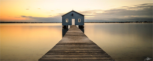 sunrise jetty australia perth aus westernaustralia swanriver nedlands crawleyboatshed