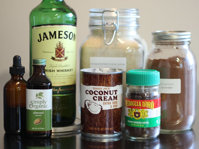 DIY Irish Cream (Vegan AND Gluten-free): Ingredients